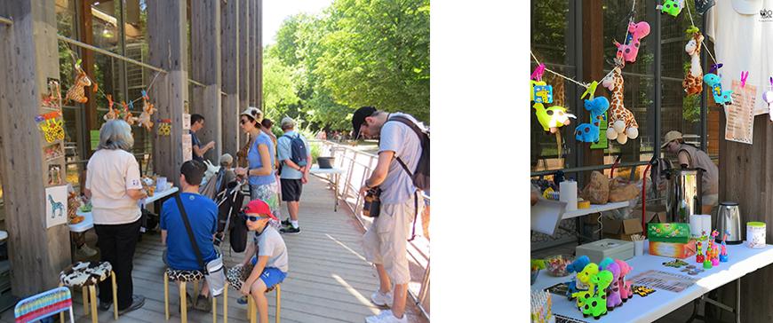 visite activité atelier evenement sortie nature animaux plantes parc tête d'or zoo jardin botanique lyon
