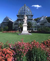 circuit visite jardin botanique lyon